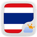 Thai Language GO Weather EX icon