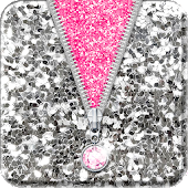 ★ Sequin Zipper Lock Screen ★