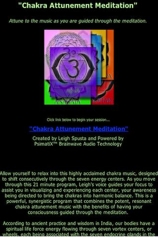 Align Chakras with Meditation- screenshot