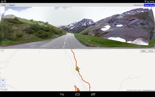 Screenshot of Cycling the Alps
