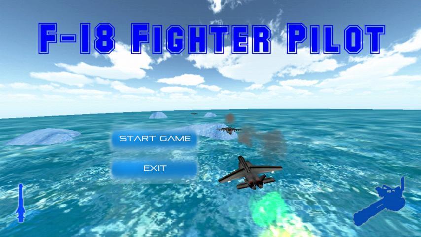F-18 Fighter Pilot- screenshot