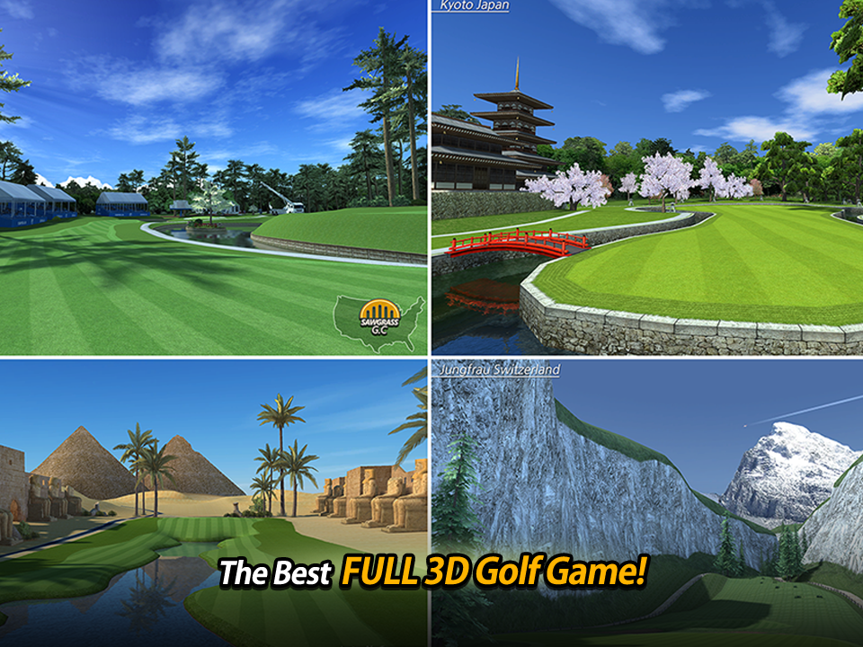 Screenshots of Golf Star™ for iPhone