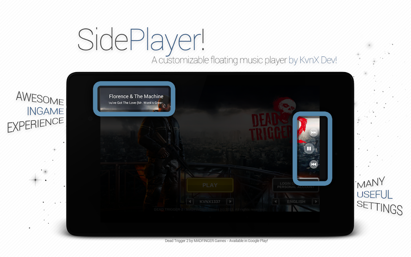 SidePlayer - screenshot