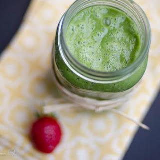 Lemony Green Smoothie with Sorrel