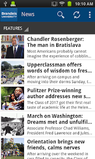 Brandeis Mobile- screenshot thumbnail