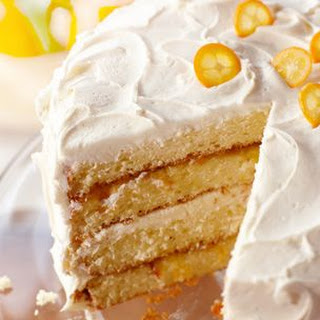Orange Chiffon Layer Cake