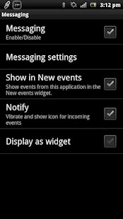 Messaging smart extension- screenshot thumbnail