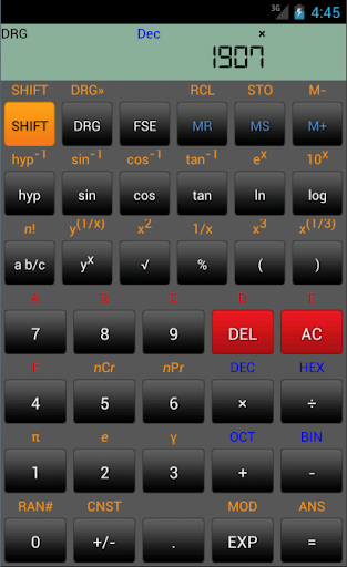 Calc+ Scientific Calculator