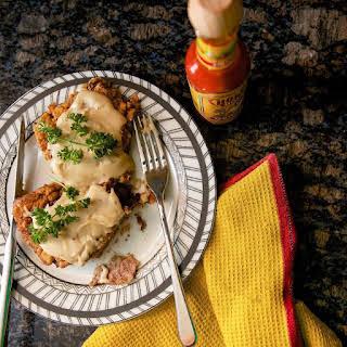 Cholula Chicken Fried Steak with Gravy.