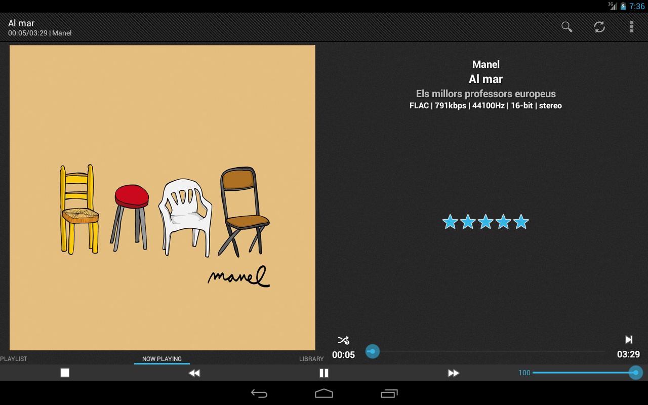 foobar2000 controller PRO- screenshot