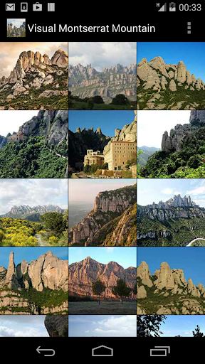 Visual Montserrat mountain