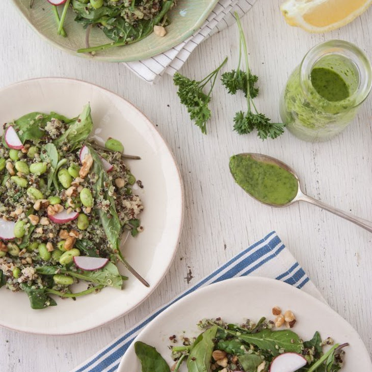 Green Goddess Quinoa Salad Recipe