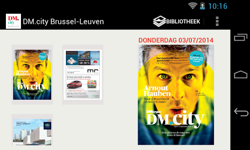DM.city Brussel-Leuven