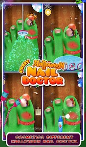 Crazy Halloween Nail Doctor v1.0
