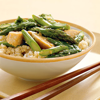Chicken and Asparagus Stir- Fry
