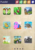 Screenshot of Puzzlet Sliding puzzle kids