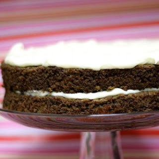 Mona's Carrot Cake With Cream Cheese Frosting.