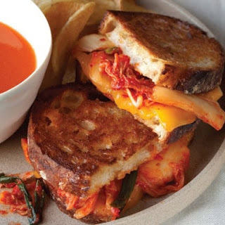 Grilled MILKimcheeze Sandwich from 'The Kimchi Cookbook'