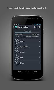 【免費生產應用App】Easy Backup-APP點子