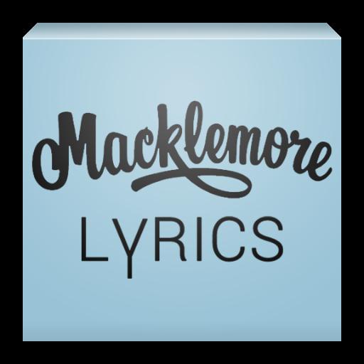 Macklemore Lyrics LOGO-APP點子