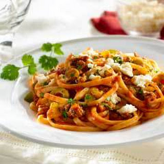 Picadillo Linguine