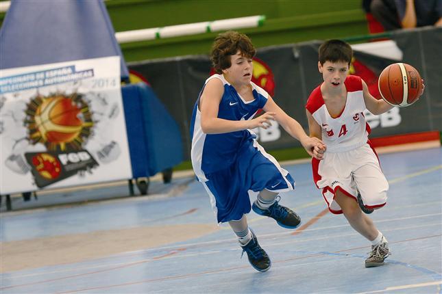 El Campeonato de España de Minibasket se juega en Bahía Sur