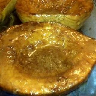 Golden Baked Acorn Squash