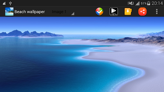 Beach Wallpaper screenshot 1