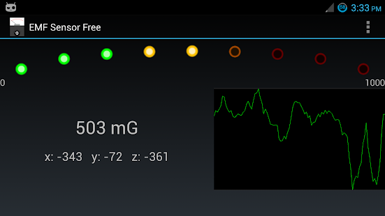 EMF Sensor Free - screenshot thumbnail