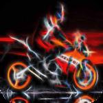 Neon Bike LWP
