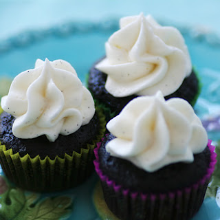 Go-to Chocolate Cupcakes with Vanilla Bean Buttercream Recipe