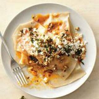 Sweet n Spicy Potato Ravioli