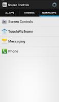 Screenshot of Screen Controls (Beta)