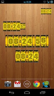 3D Rolling Clock GOLD- screenshot thumbnail