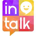 Korea random chat messenger icon