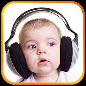 面白い赤ちゃんは、着信音を鳴らします