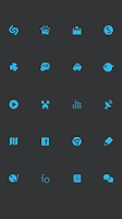 Screenshot of SMPL Blue Theme Go/Nova/Apex