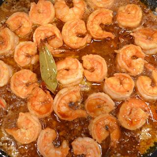 Skillet Barbecued Shrimp