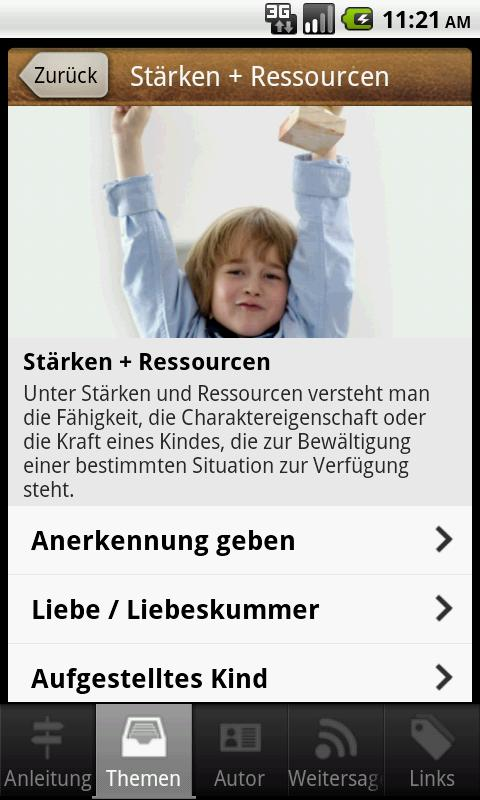 EducationApp for parents- screenshot