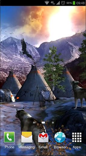 玩個人化App|Native American 3D Free免費|APP試玩