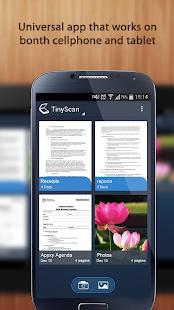 Tiny Scan:PDF Document Scanner - screenshot thumbnail