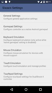 Sixaxis Controller: miniatuur van screenshot