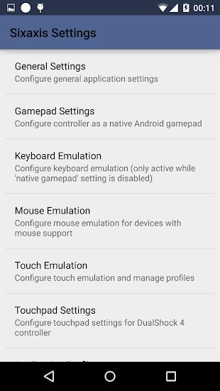 Sixaxis Controller- screenshot thumbnail