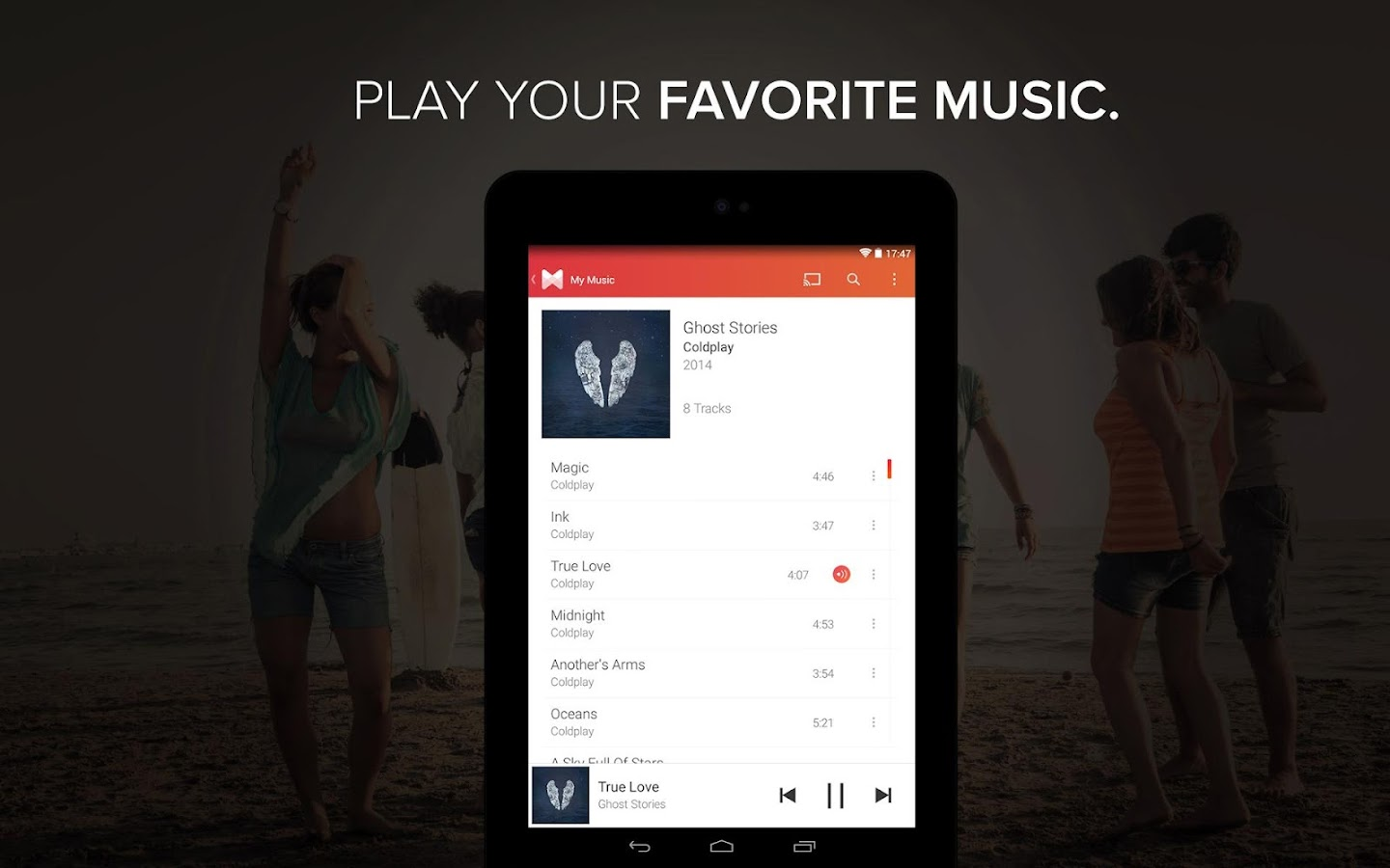 Musixmatch music & lyrics - screenshot