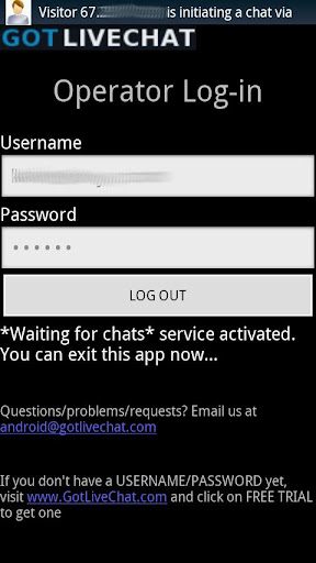 Live Chat Live Support App