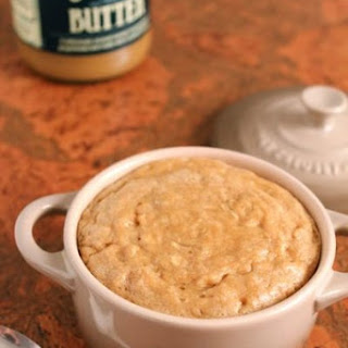Speculoos Cookie Butter Baked Oatmeal for One.