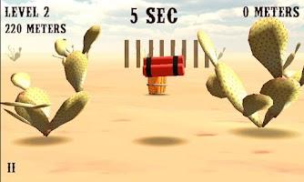 Screenshot of 3D Barrels TNT Dynamite west