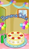 Screenshot of Banana Cake Cooking