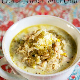 Corn and Chicken White Chili