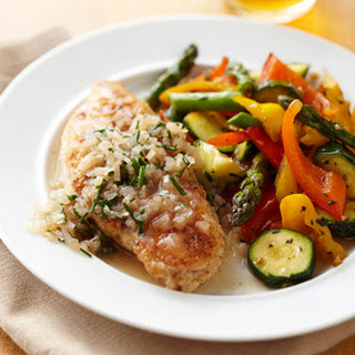 Sautéed Chicken Breasts with Simple Chive Sauce